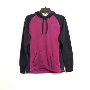 Purple Nike Therma Fit Hoodie